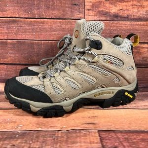 Merrell Shoes - Merrell Moab Mid Ventilator Hiking Shoes Boots